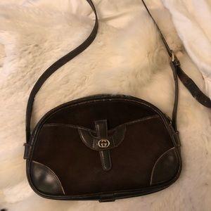 Authentic Vintage Gucci Bag brown
